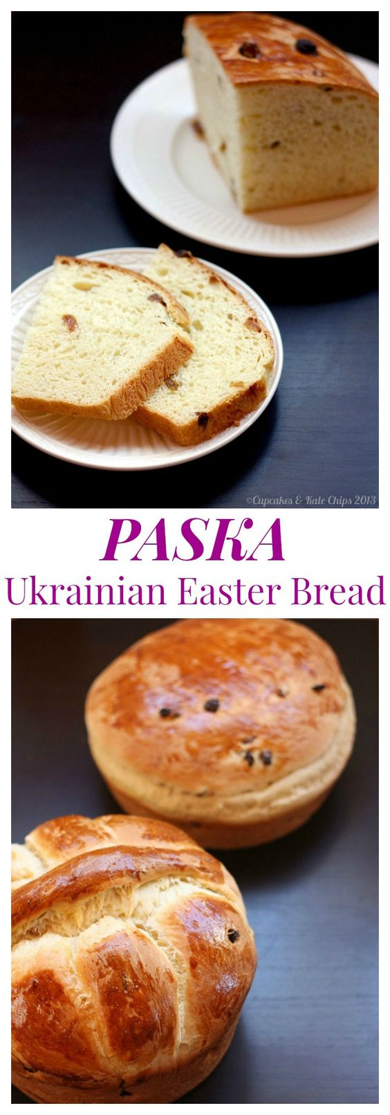 Paska - traditional Ukrainian Easter Bread. This recipes has been in ...
