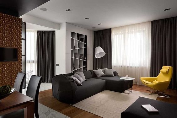 Graphite Penthouse by Denis Rakaev: