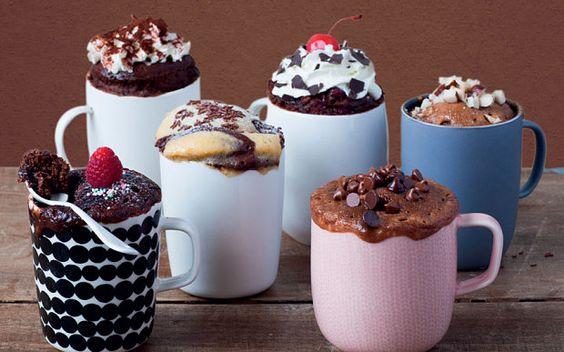 MICROWAVE COOKING - Microwave cappuccino mug cake recipe - Telegraph