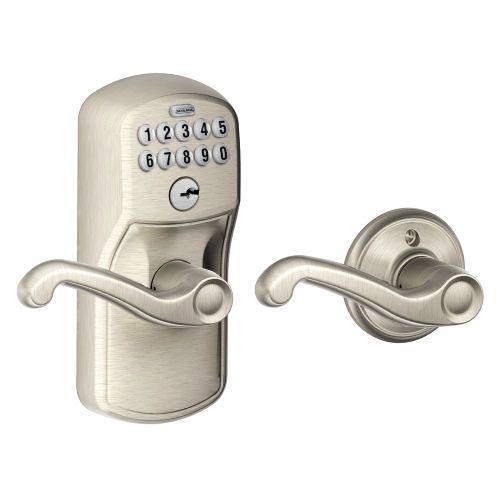 Schlage Fe575 Electronic Keypad Auto Lock Door Levers Schlage Keypad Door Locks
