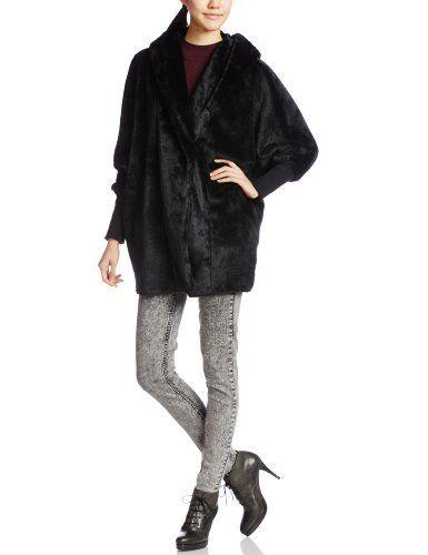 Amazon.co.jp: (エモダ)EMODA overフードボアCO: 服&ファッション小物