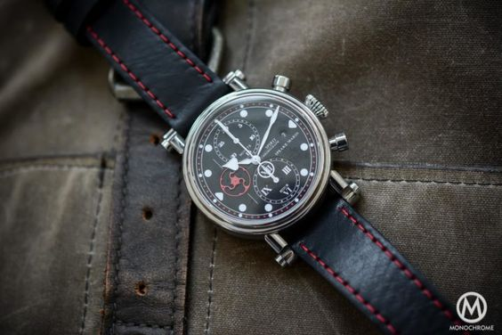 Hands-on - The Speake-Marin Spirit Seafire Chronograph Titanium Red - Monochrome…