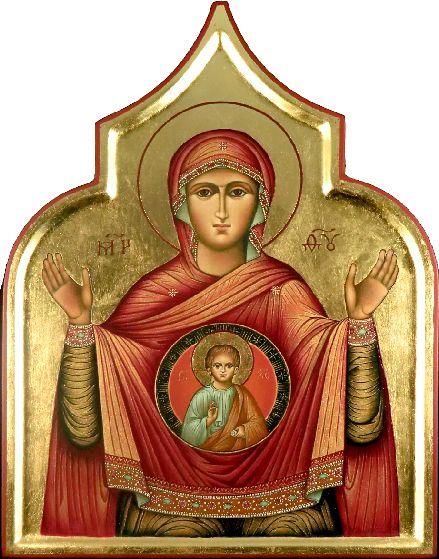 Ikona malowanie z Peterem i Martina Eichhorn