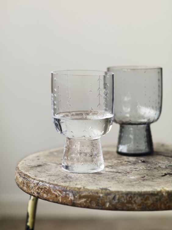 LOVE these glasses by Iitala