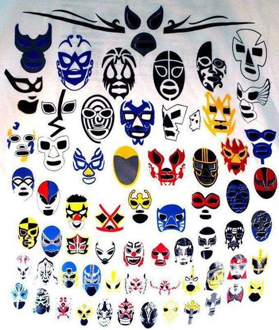 Muchas máscaras!
