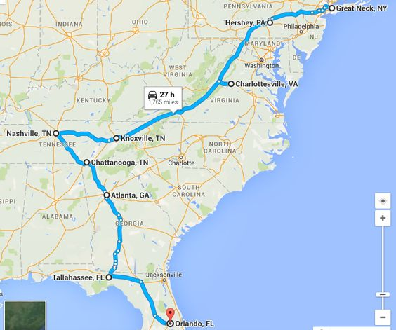 Phase 6 Motherofallroadtrips Northeast To Southeast Usa