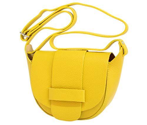 sac /à bandouli/ère sac disco GL022 sac port/és /épaule pour femme AmbraModa Petit sac en cuir italien