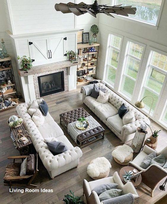 Cozy Living Room Decor For Small Modern Boho Or Rustic Living Rooms Open Living Room Design Large Living Room Layout Livingroom Layout