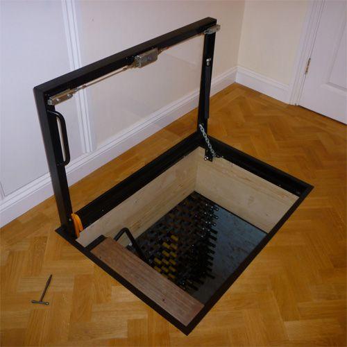 Cellar Access - Clear View Door