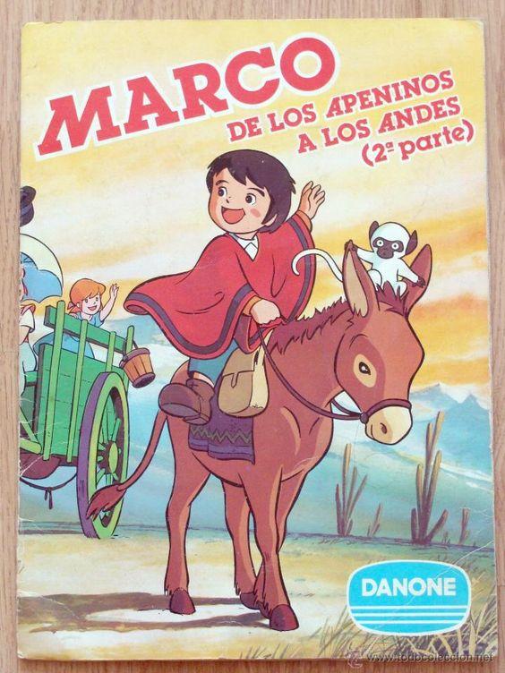 ALBUM CROMOS MARCO DE LOS APENINOS A LOS ANDES 2ª PARTE DANONE EXCELENTE CONSERVACION