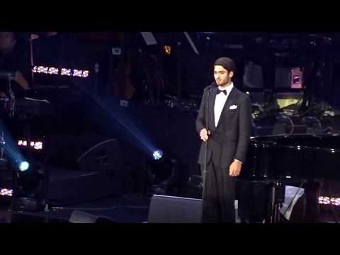 Matteo Bocelli Live Debut At The David Foster Foundation Concert In Vancouver Youtube Our Father Lyrics Music Sing The Fosters