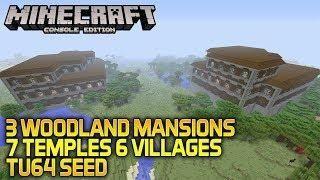 minecraft mansion seed xbox one 2020