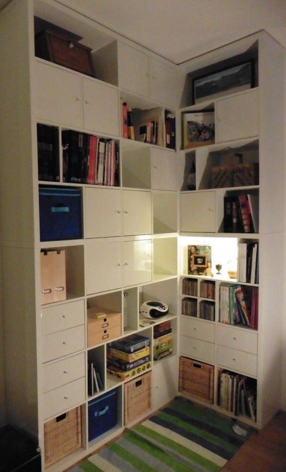 4x4 tuis and ikea on pinterest - Kallax 4 cases ...