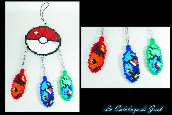 "Pokemon dream catcher (Original pattern) by ""La calabaza de Jack"" (Cristell Justicia) http://cristell15.deviantart.com/"
