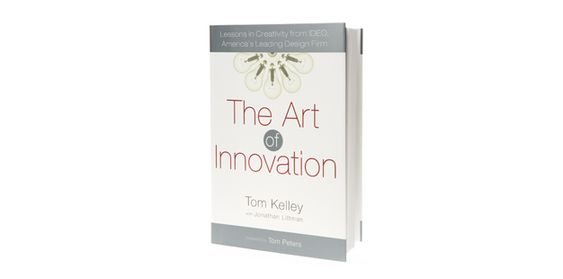 The Art of Innovation by Tom Kelley. A different perspective on Innovation art. Behind the scenes of IDEO and it's culture.