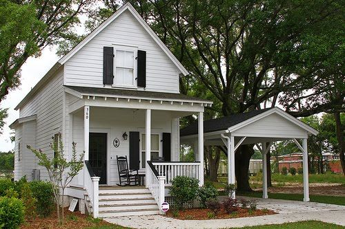 Love this low country style cottage recently built in for Low country cottage