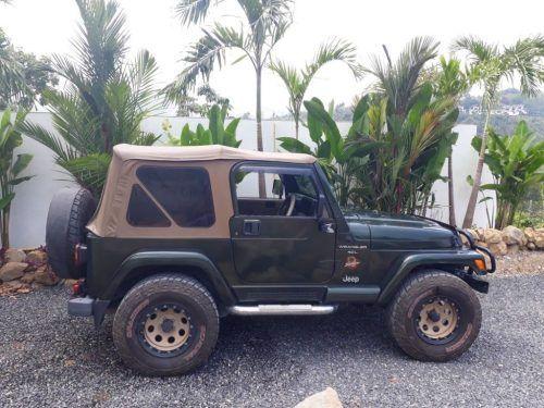 Wrangler Sahara Jeep Farangmart Classifiedads Thailand