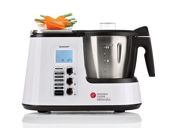 SILVERCREST® Küchenmaschine mit Kochfunktion Monsieur Cuisine - silver crest küchenmaschine