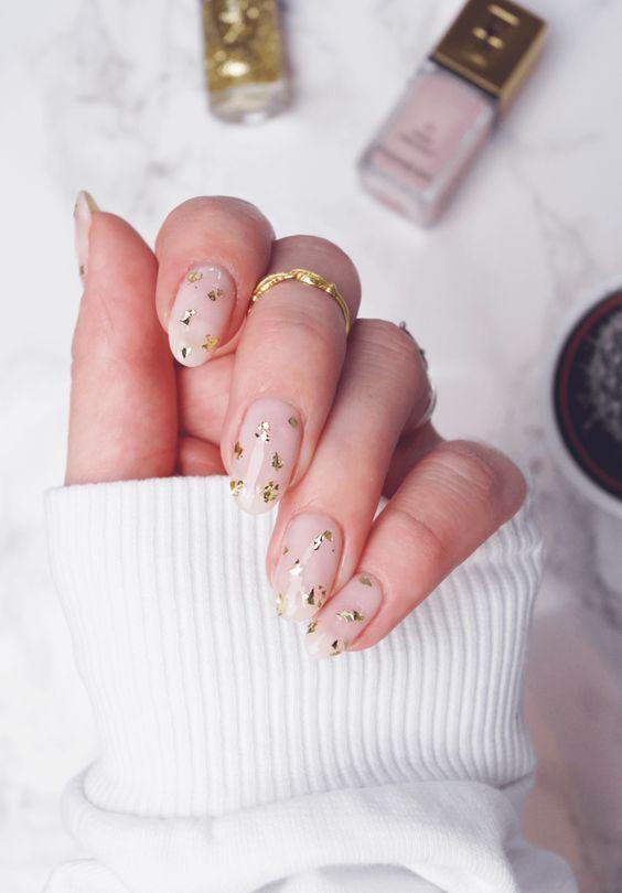 Imagine Nails And Gold Trendy Nails Star Nail Art Star Nails
