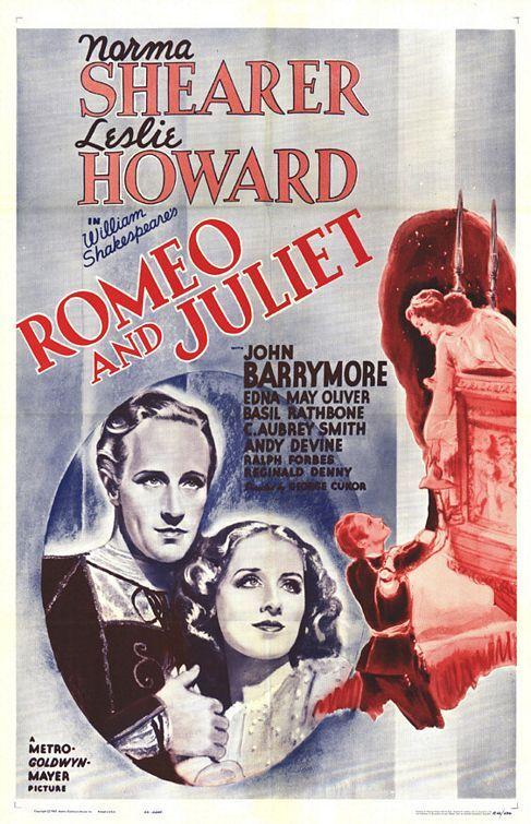 """Dicas de Filmes pela Scheila: Filme: """"Romeu e Julieta (1936)"""""""