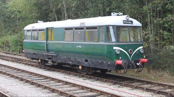 The Ecclesbourne Valley Railway, in Derbyshire, has announced that Wagon and Maschinenbau diesel railbus E79960 will be visiting the line for the heritage railways 'Multiple Memories Railcar Gala'.
