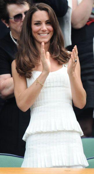 Kate middleton white blazers | Kate Middleton's Wimbledon chic