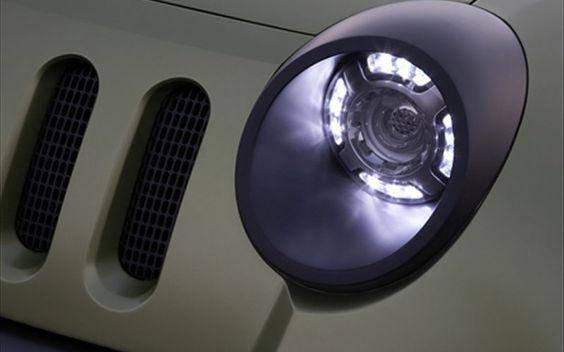 2008 Jeep Renegade Concept Headlight