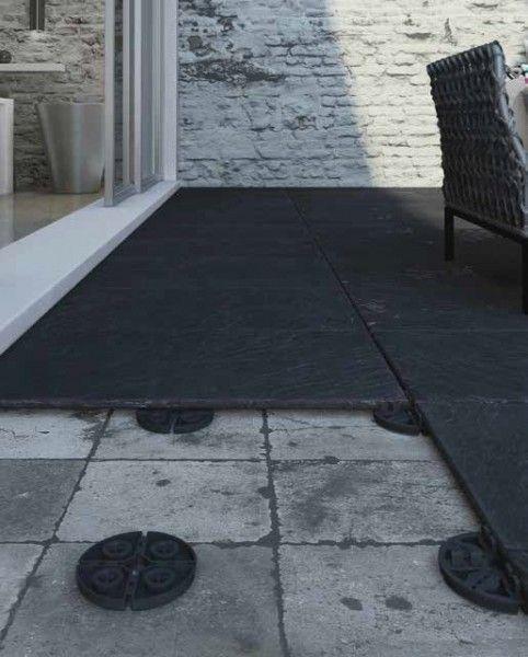 Piedestal Fixe Pour Carreaux De Terrasse Largeur De Joint 3 Mm Resistant Au Gel Durable Et Stable En 2020 Terrasse Carrelage Sur Plot Dalle Terrasse Terrasse Design