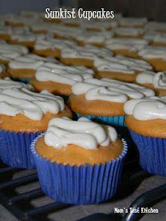Sunkist Cupcakes