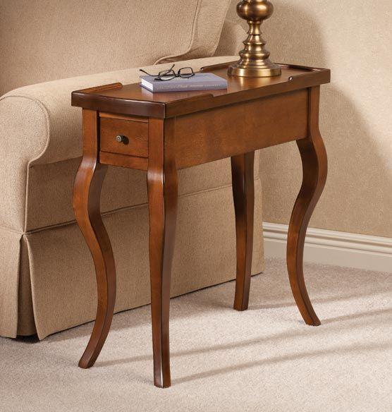 Carolina Harp Leg Table - Zoom