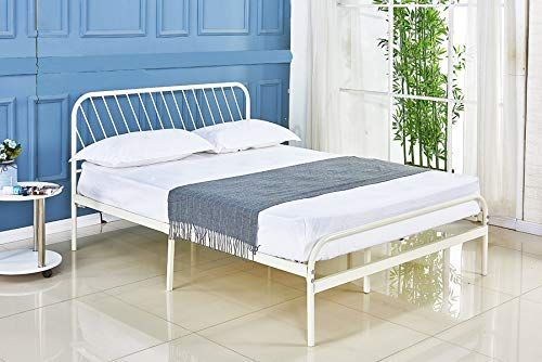 Sleepalace Metal Bed Frame Queen Size Headboard And Footboard The