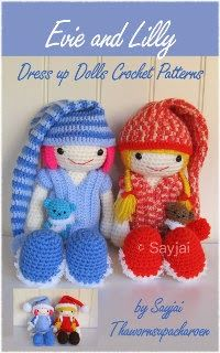 Amigurumi Dress Up Dolls : Evie and Lilly Dress up Dolls Amigurumi crochet pattern ...