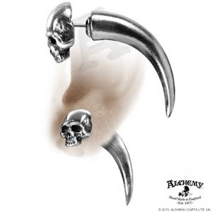 Goth Earrings For Guys Male Gothic Beautify Themselves With