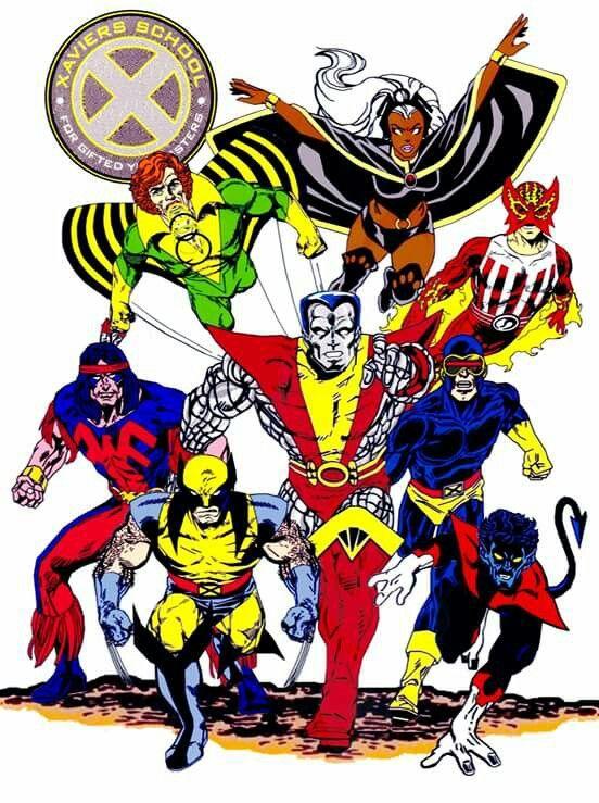 Homage To Giant Size X Men No 1 After John Byrne And Dave Cockrum Marvel Comics Art Comic Book Artwork Superhero Comic