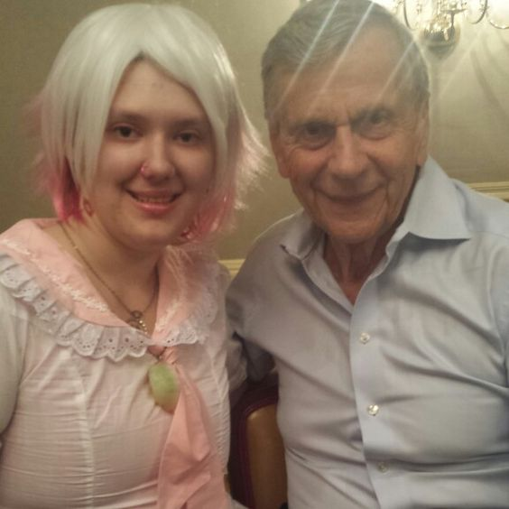 Me and William B. Davis aka the cigarette smoking man from the X Files. Really nice guy.