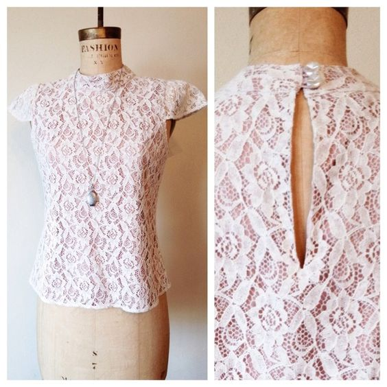 "Spotted while shopping on Poshmark: ""Vertigo Paris Lace Top""! #poshmark #fashion #shopping #style #Vertigo #Tops"