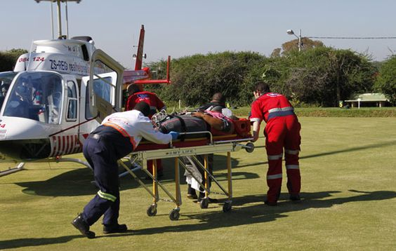 Arrive Alive South Africa | Helicopter Air Evacuation
