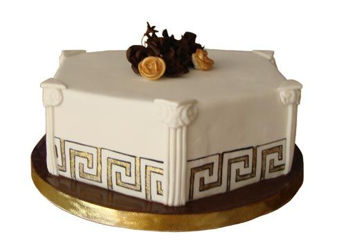 Traditional greek wedding cake recipe