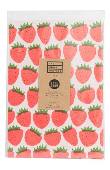 Knot & Bow 'Summer Fruits' Gift Wrap available at #Nordstrom