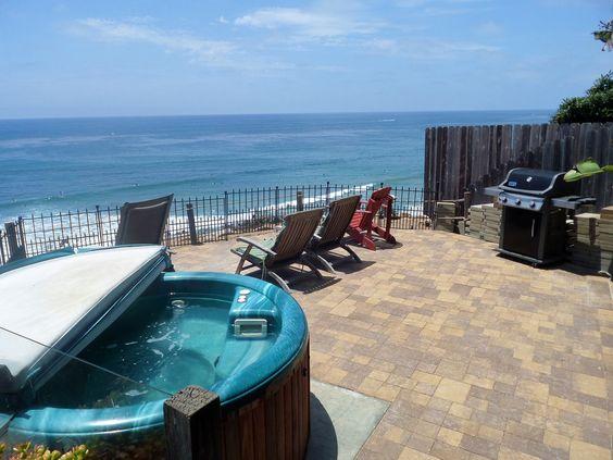 866 Oceanfront beach home, #Vacation #golf #surf #rentals #travel #Encinitas #SANDIEGO 858-465-9111