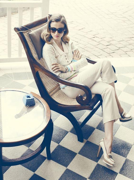 Amanda Norgaard for Elle Denmark May 2012 by Signe Vilstrup.