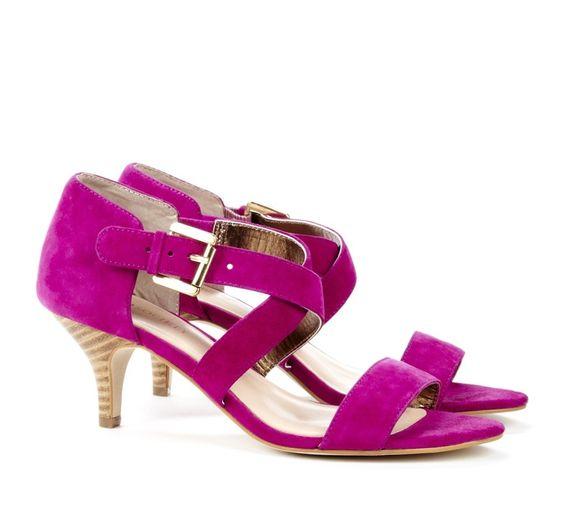 hot pink kitten heels &lt3 | MODA | Pinterest | Hot pink Kittens