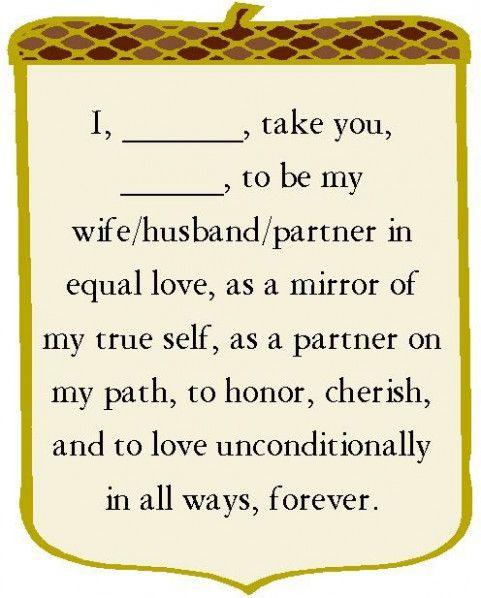 Simple Wedding Vows Short Wedding Vows Wednesday 11 21 13 Lyssabeths Wedding Officiants Wedding Vows And R Simple Wedding Vows Wedding Vows Wedding Officiant