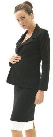 Black Maternity Suit Jacket