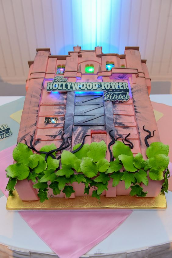 One bite of this wedding cake and you may find yourself in...The Twilight Zone