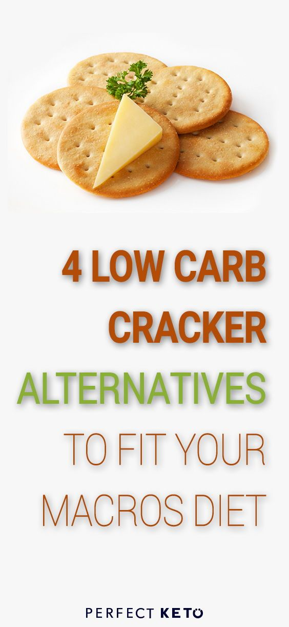 Keto Cracker Substitutes 4 Low Carb Cracker Alternatives To Fit Your Macros Low Carb Crackers Healthy Crackers Low Carb