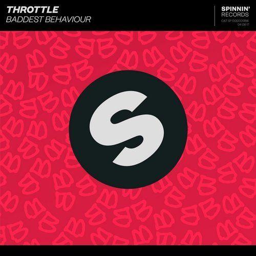 Throttle – Baddest Behaviour (single cover art)
