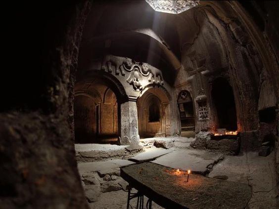 #geghard #monastery #temple #christian #armenian_apostolic_church #armenia #art #photography #religion #interior #dark: