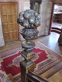The Worlds Finest Carved Staircase Fittings by Master Craftsmen