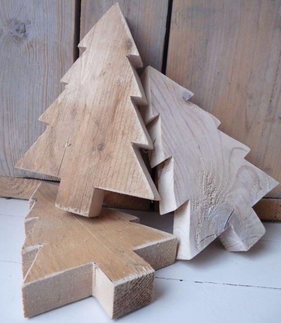 Steigerhouten kerstboompjes te koop in onze webwinkel